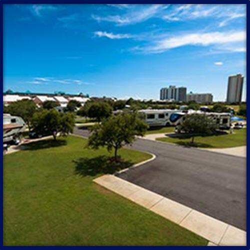 Geronimo RV Resort Aerial