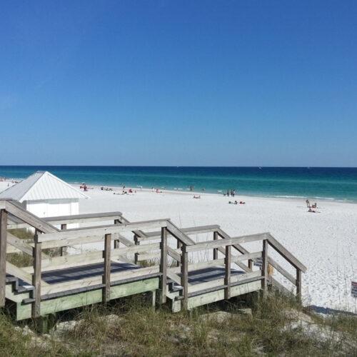Beach Access 2 Blocks Away
