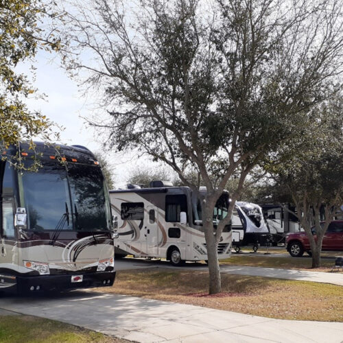 Large Sites For Any Size RV